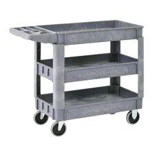 "Plastic 33"" Utility Cart"