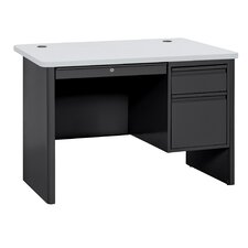 "700 Series 29.5"" Single Pedestal Desk"