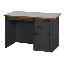 "900 Series 29.5"" Single Pedestal Desk"