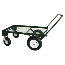 4 Wheel Steel Flat Wagon