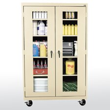 "Transport Clear View 46"" Storage Cabinet"