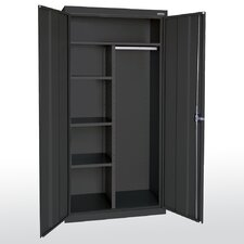 "Elite Series 46"" Large Capacity Combination Wardrobe Cabinet"