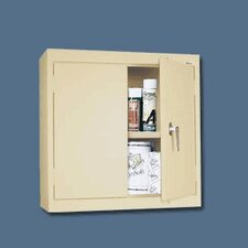 Double Solid Door Wall Cabinet