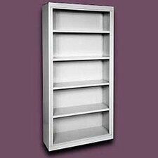 "72"" H Deep Five Shelf Bookcase"