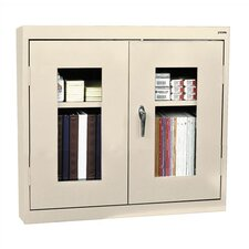 "Clear View 30"" Double Door Wall Storage Cabinet"