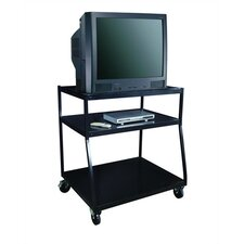 "<strong>Sandusky Cabinets</strong> 40"" Wide Body TV Monitor Cart"