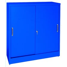 "42"" Storage Cabinets with Sliding Door"