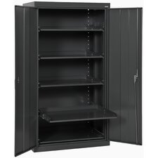 "Pull Out 36"" Tray Shelves Cabinet"