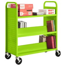 <strong>Sandusky Cabinets</strong> Combination Shelf Mobile Booktruck