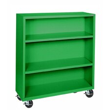 "<strong>Sandusky Cabinets</strong> Elite Series Mobile 42"" Bookcase"