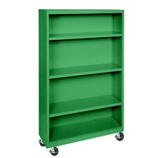 "<strong>Sandusky Cabinets</strong> Elite Series Mobile 52"" Bookcase"