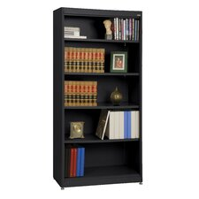 "Elite Radius Edge Stationary 72"" Bookcase"