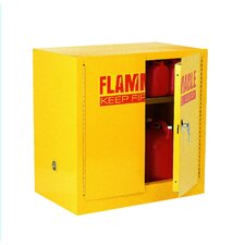 """35"""" H x 35"""" W x 22"""" D Compact Flammable Safety Storage Cabinet"""
