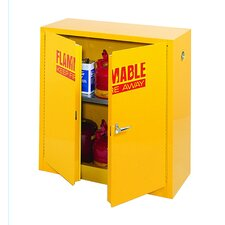 "44"" H x 43"" W x 18"" D Flammable Safety Storage Cabinet"