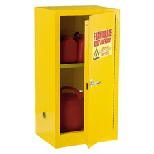 "35"" H x 23"" W x 18"" D Compact Flammable Safety Storage Cabinet"