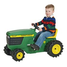Plastic Pedal-Powered Tractor