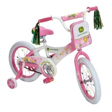 "<strong>John Deere</strong> John Deere 16"" Girls Pink Bike"