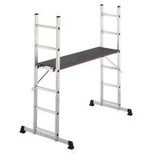 ProfiStep Multi 3-Section Aluminium Scaffold and Ladder