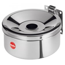 10cm ProfiLine Easy Pro 1.5 Wall Ashtray in Stainless Steel