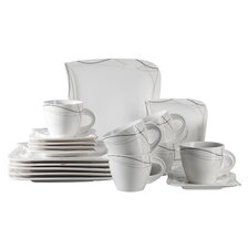 Caprice 18 Piece Porcelain Coffee Set