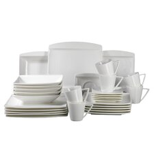 Pura 30 Piece Porcelain Dinnerware Set in Robust