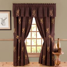 <strong>Browning Bedding</strong> Buckmark Window Treatment Collection