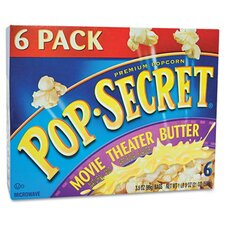 Pop Secret Microwave Popcorn, 6 Bags/Box