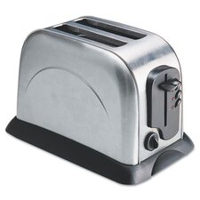 Coffee Pro 2-Slice Toaster with Adjustable Slot Width
