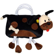 Kid's Plush Bags Fido Overnighter Tote Bag