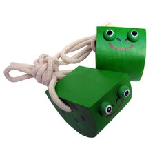 Kid's Frog Rolling Stilts