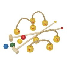 <strong>Sassafras</strong> Kid's Duck Combo Croquet Game Set