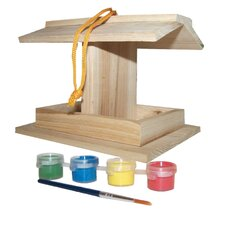 Paint Your Own Bird Feeder