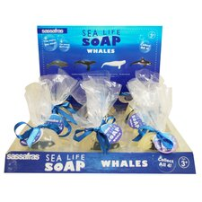 <strong>Sassafras</strong> Whale Soap Display