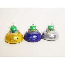 Clip-Itty-Doo-Dahs Wind Up UFO Display (Set of 24)