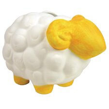 Paint Your Own Sheep Mini Bank