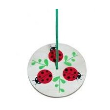 Kid's Ladybug Tree Swing