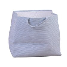 Storage Bag in Blue Candy Stripe