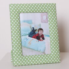 Photo Frame in Green Dotty