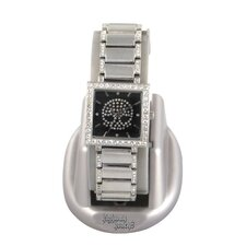 Highway Honey Women's Watch with Diamond Skull Emboss