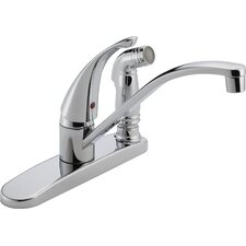 "<strong>Peerless Faucets</strong> 11.75"" Single Handle Centerset Kitchen Faucet"