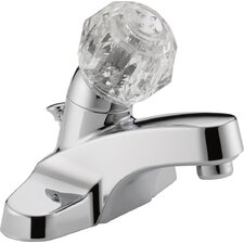 Centerset Bathroom Faucet with Double Knob Handles