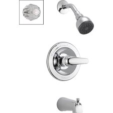 Complete Diverter Tub and Shower Faucet Trim