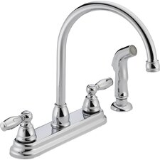 Two Handle Centerset Kitchen Faucet