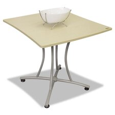 "Trento Palermo 31.5"" W x 33"" L Rectangular Gathering Table"