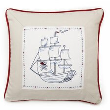 Pirate Ship Decorative Pillow