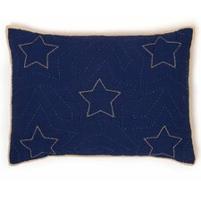 Classic Stars and Stripes Standard Sham