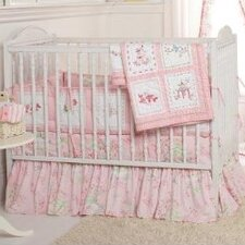 Pink Pagoda Crib Bedding Collection