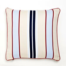 Classic Stars & Stripes Preppy Stripe Pillow