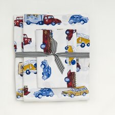 Cars and Trucks 240 Thread Count Sheet Set
