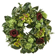 Cymbidium / Rose Wreath